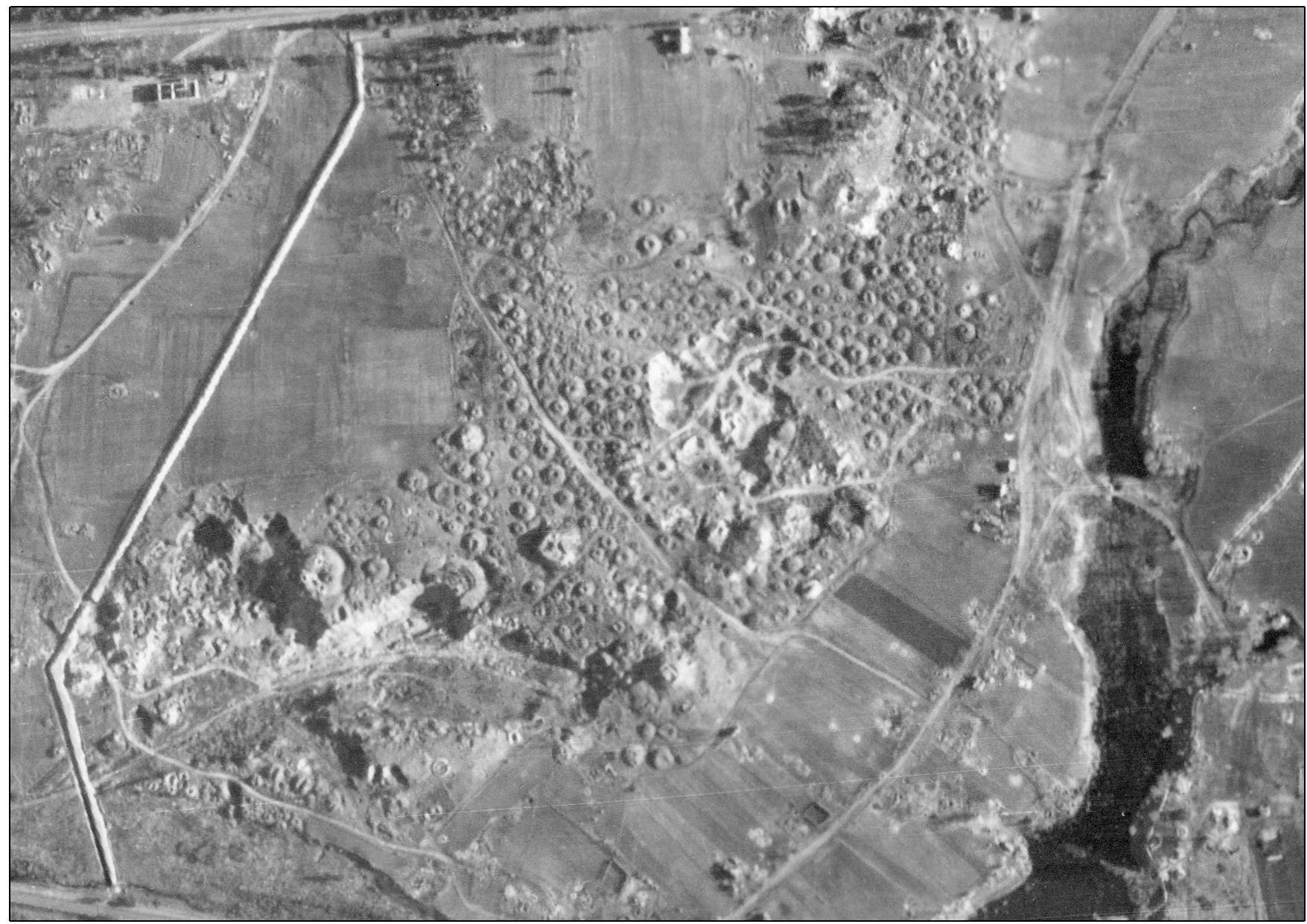 Центральная курганная группа, 1944 г.